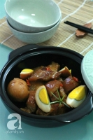 Học Christine Hà cách kho thịt cực ngon!