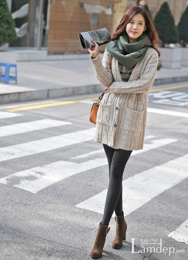Shorts đẹp cho nàng 'chân ngắn' mùa đông