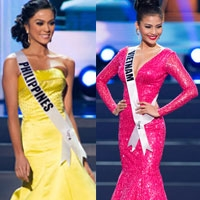 11 bộ đầm lộng lẫy nhất Miss Universe