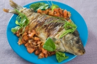 Cá chép – món ăn rất tốt cho phụ nữ mang thai