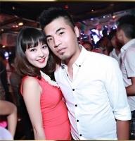 Lộ ảnh tình tứ của hot girl Mi Vân và bạn trai