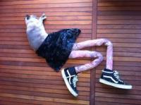 Trào lưu chụp ảnh mèo đi tất 'siêu nhắng'