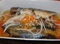 Cá bạc má kho dứa