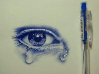 9X vẽ chân dung bằng bút bi giống hệt người thật