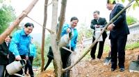 Tuổi trẻ trồng 700.000 cây xanh