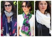 6 kiểu quàng khăn cực yêu ngày lạnh