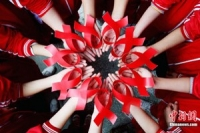 """Sống hồn nhiên trong """"cơn bão AIDS"""""""