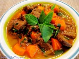 Công thức nấu bò kho chay - Hướng dẫn làm món bò kho chay