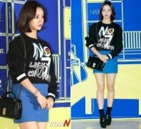 Sao Hàn đọ style dự Seoul Fashion Week