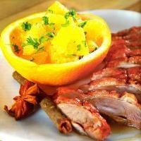 Chua ngọt ngon cơm với món gà xốt cam