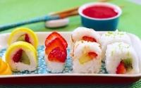 Sushi trái cây ngọt - Bạn đã thử chưa?