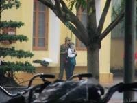 Mang 2 dao, 1 can xăng đến khống chế nữ sinh trường Cao đẳng Y tế Thái Bình