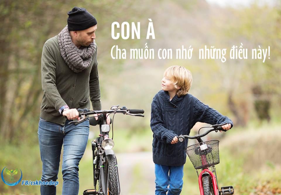 Là một người cha 'tâm lý', bạn nhất định phải dạy con trai mình 8 điều này