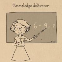 Tổng hợp hình ảnh hài hước kèm câu nói hay vui nhộn bá đạo của thầy cô giáo khiến học sinh đứng hình