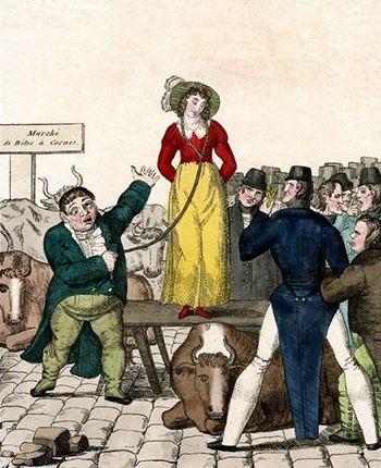 """Người Anh đã từng phải """"bán vợ"""" để chấm dứt hôn nhân vì li dị quá tốn tiền"""