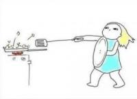 Đây chính xác là những gì sẽ diễn ra khi con gái không biết nấu ăn vào bếp