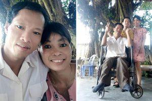 Hạnh phúc của đôi vợ chồng khuyết tật: Bởi có tình yêu nên mọi khiếm khuyết trở nên hoàn hảo