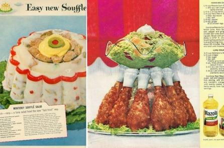 Những món ăn kỳ lạ của ẩm thực những năm 50s, 60s, 70s