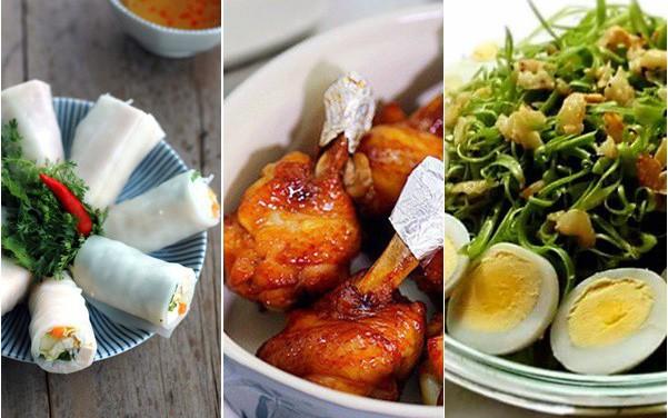 Cuối tuần nắng nóng, các mẹ cứ nấu theo thực đơn này đảm bảo làm ít ăn ngon, cả nhà nức nở
