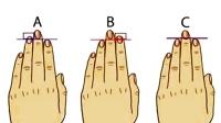Chiều dài ngón tay tiết lộ cực chính xác tính cách của bạn?