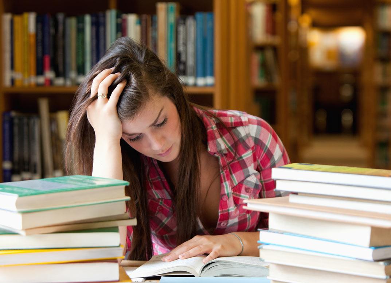 Đọc sách khiến em rối bời thêm.