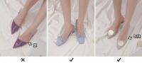 Thay mặt hội chị em có bàn chân thô, cô nàng này đã thử nghiệm và tìm ra kiểu giày dép tôn chân nịnh dáng nhất