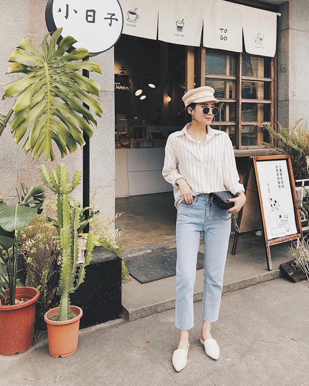 """Để tránh bị chê """"không ra thể thống gì"""" khi diện quần jeans đi làm, nàng công sở chỉ cần nhớ đúng 4 tips"""
