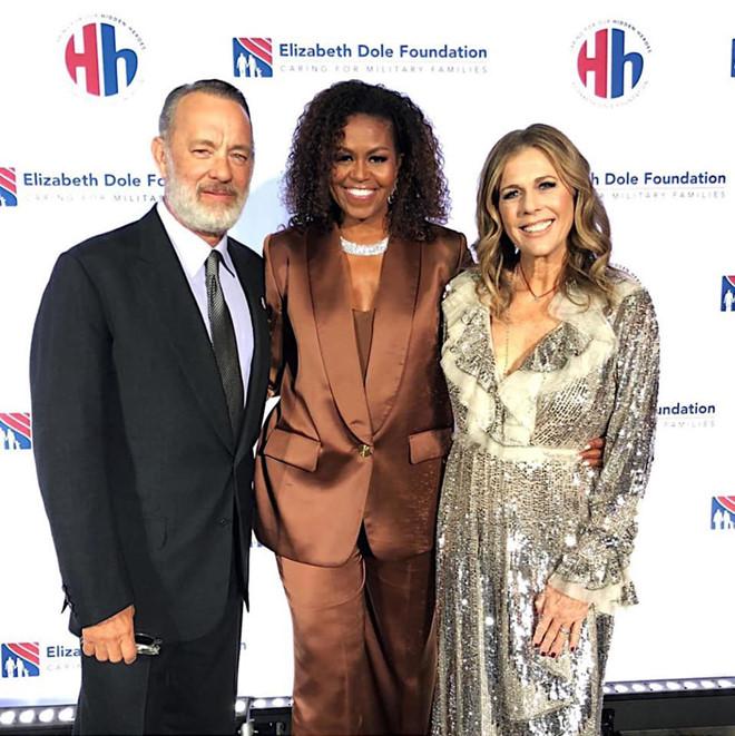 Michelle Obama mặc đồ Công Trí thiết kế