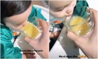 Phạm Hương từng khoe chăm con ăn dặm chỉn chu, ảnh thực bữa ăn của bé chứng minh tất cả