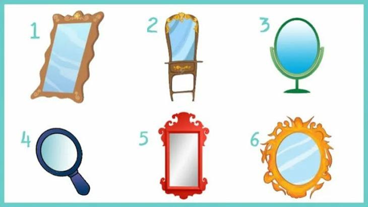 Chọn một chiếc gương sẽ hé lộ tính cách thật sự của bạn