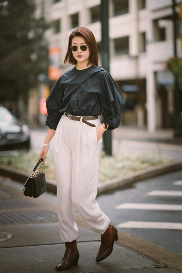 Đừng mặc quần jean vào đầu mùa xuân! 'Quần đậu phụ' hot nhất năm nay và khiến bạn trẻ hơn so với tuổi