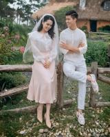 """Đám cưới Duy Mạnh - Quỳnh Anh được trang hoàng bởi 500.000 viên pha lê, ảnh cưới theo bộ phim đình đám Hàn Quốc """"Hạ cánh nơi anh"""""""