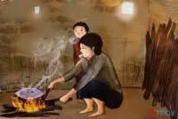 Mùi khói bếp khiến người ta dễ cay mắt