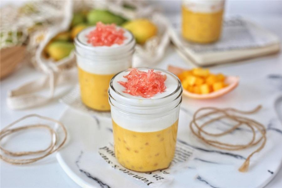 Bổ sung vitamin với pudding xoài 2 lớp ngon đẹp lung linh