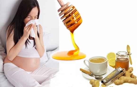 Bà bầu phải làm gì khi mắc cảm cúm?
