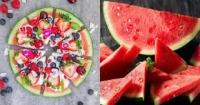 Quên nước ép và sinh tố dưa hấu đi, mùa hè này hãy làm pizza dưa hấu ăn vừa mịn da lại đẹp dáng thôi!
