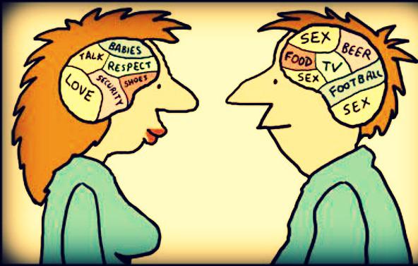 Khác biệt thú vị giữa đàn ông và phụ nữ