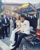 Tình cũ Pong Nawat kết hôn với HLV The Face Men Thailand - Toni Rakkaen