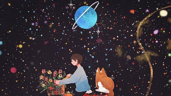 Cất nỗi buồn vào những vì sao