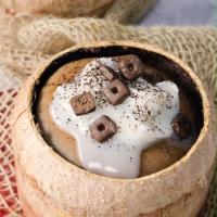 Cách làm bánh milo trái dừa bông mềm, thơm ngon, mới lạ
