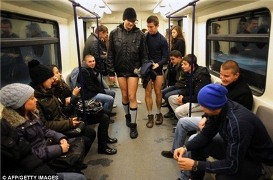 Thế giới mặc quần chip hưởng ứng... ''Ngày không quần''