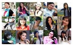 15 gương mặt tiêu biểu lọt vào vòng bán kết cuộc thi Vẻ đẹp Vầng trăng khuyết 2013